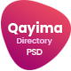 Qayima | Listing & Directory PSD Temlate - ThemeForest Item for Sale