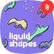 Liquid Shapes Seamless Patterns - GraphicRiver Item for Sale