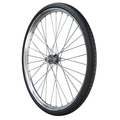 Bicycle wheel close up isolated on white background. 3d rendering. - PhotoDune Item for Sale