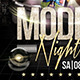 Model Night Flyer Template - GraphicRiver Item for Sale