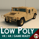 Low Poly Military 4x4 01 - 3DOcean Item for Sale