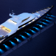 megayacht scenes - day and night - 3DOcean Item for Sale