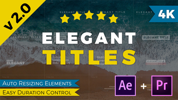 Videohive | Elegant Titles After Effects Free Download free download Videohive | Elegant Titles After Effects Free Download nulled Videohive | Elegant Titles After Effects Free Download
