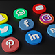 Social Media 3D Logos - 3DOcean Item for Sale