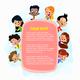Illustration of Kids Peeping Behind Pink Placard - GraphicRiver Item for Sale
