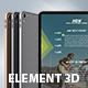 iPad Pro 2019 Element 3D Model - 3DOcean Item for Sale