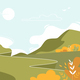 Mountain Landscape Nature at Summer Background - GraphicRiver Item for Sale