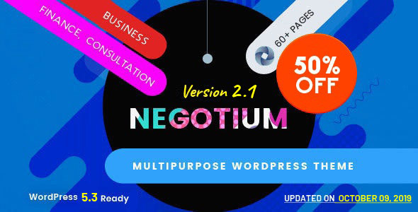 Negotium - Multipurpose Business WordPress Template