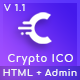Crypto ICO - Cryptocurrency Website Landing Page HTML Template - ThemeForest Item for Sale