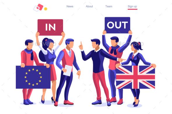 United Kingdom Brexit Banner