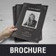 Funeral Program A5 Brochure v1 - GraphicRiver Item for Sale
