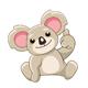 Koala Stickers Set - GraphicRiver Item for Sale