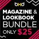 10 Magazine/Lookbook Template InDesign & Photoshop - GraphicRiver Item for Sale