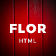 Flor - HTML Responsive Template - ThemeForest Item for Sale