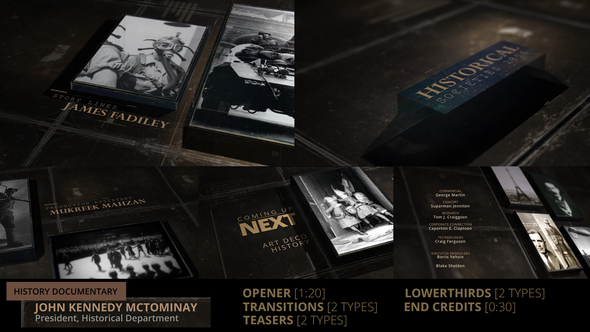 History Documentary Broadcast Pack