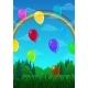 Landscape Balloons Over Forest - GraphicRiver Item for Sale