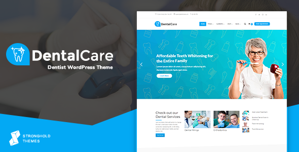 Dental Care - Dentist & Medical WordPress Theme