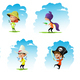 Set of Children in Costumes - GraphicRiver Item for Sale