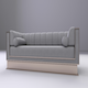 Single Sofa Chester - 3DOcean Item for Sale