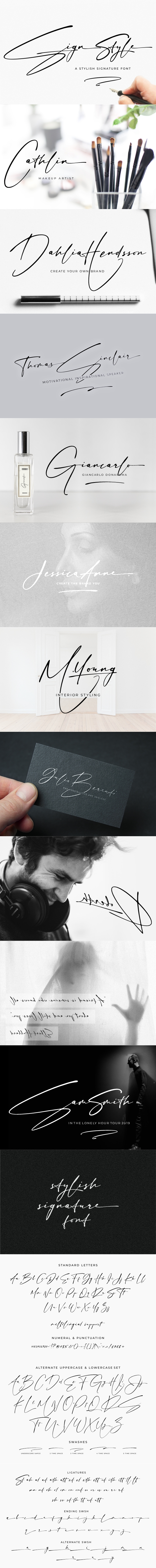 Sign Style | Signature font free download Sign Style | Signature font coupon Sign Style | Signature font review Sign Style | Signature font nulled Sign Style | Signature font