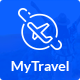 MyTravel Booking Agency PSD Template - ThemeForest Item for Sale
