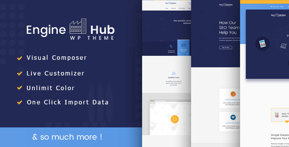 Engine Hub Marketing WordPress Theme