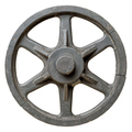 Old wooden wagon wheel - PhotoDune Item for Sale