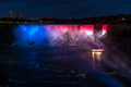 Niagara Falls at night from the Ontario Canadian side - PhotoDune Item for Sale