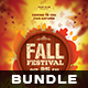 Fall Fest Flyer Bundle - GraphicRiver Item for Sale