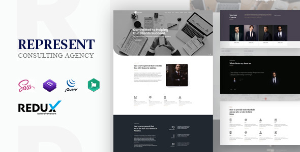 Represent - Consulting Finance WordPress