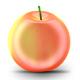 Apple model scupt - 3DOcean Item for Sale