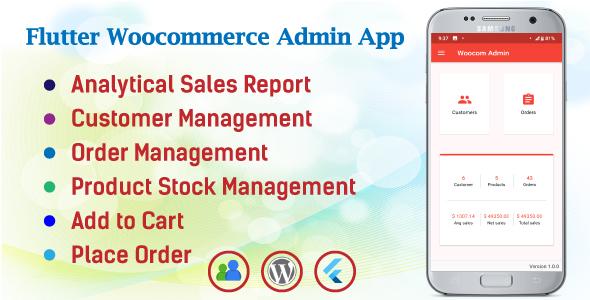 Woocom Admin – Flutter Woocommerce Admin Mobile App