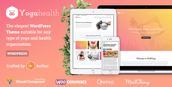 Susastho - Health and Yoga WordPress Theme