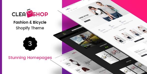 Clean Shop - Business Services and Minimal Shopify Theme
