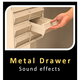 Metal Drawer Sounds