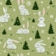 Bunnies Christmas - GraphicRiver Item for Sale