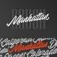 Manhattan Script Font - GraphicRiver Item for Sale