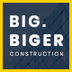 Bigger - Construction WordPress Theme - ThemeForest Item for Sale