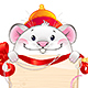 White Metal Rat Symbol of Chinese Horoscope for New Year - GraphicRiver Item for Sale