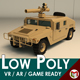 Low Poly Military 4x4 03 - 3DOcean Item for Sale