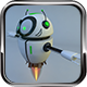 Rigged Flying Robot Model - 3DOcean Item for Sale