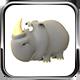 Rigged Rhinoceros Model - 3DOcean Item for Sale