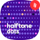 Horizontal Halftone Dots Seamless Patterns - GraphicRiver Item for Sale