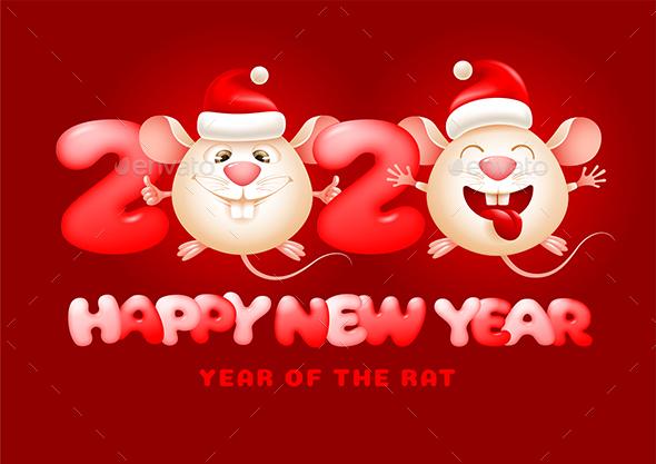 Happy New Year Of The Rat