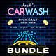 Car Wash Flyer Bundle - GraphicRiver Item for Sale