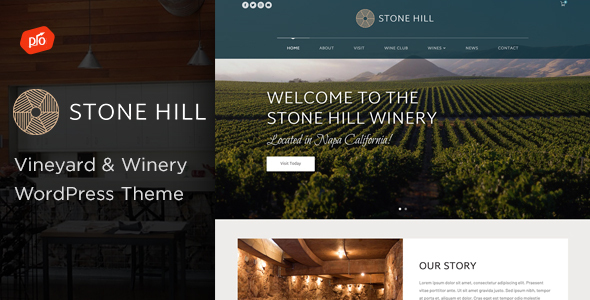 Stone Hill - Vineyard and Winery Theme