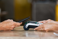 Paying with contactless smartphone - PhotoDune Item for Sale