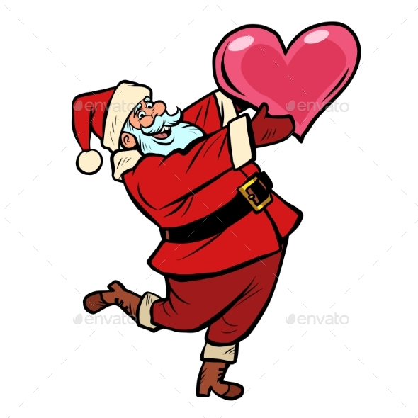 Santa Claus with Heart