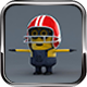 Minions Models Rigged with Biped - 3DOcean Item for Sale