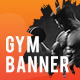 Fitness Ad Banners - GraphicRiver Item for Sale